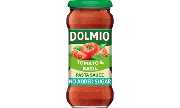 Dolmio tomato and basil pasta sauce