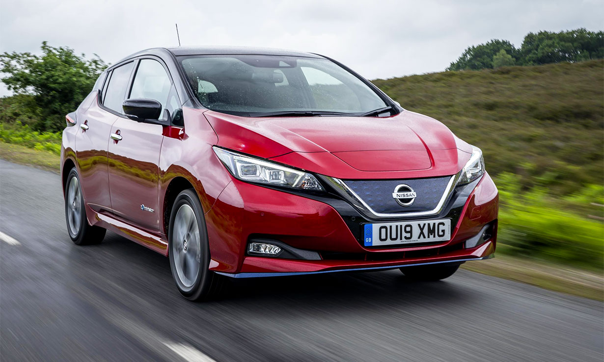 Nissan Leaf 2018-present electric car