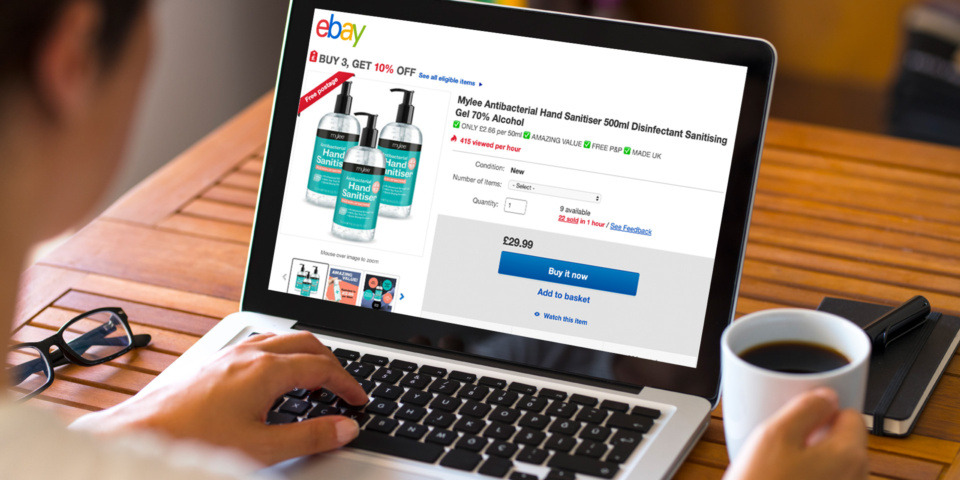 Ebay And Amazon Failing To Prevent Sellers Profiteering During Coronavirus Crisis Which News