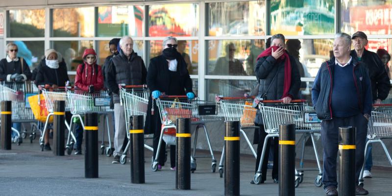 Coronavirus: supermarket shopping looking 'more normal', says Tesco boss