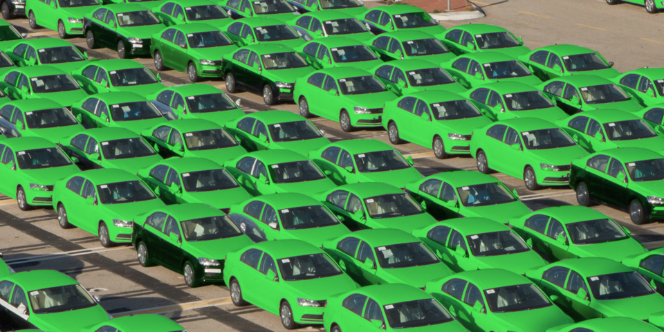 Electric cars to literally 'go green' from 2025