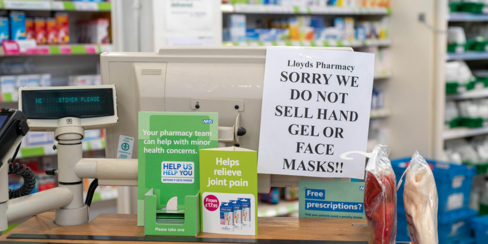 Coronavirus: pharmacies introduce prescription home deliveries for shielding patients