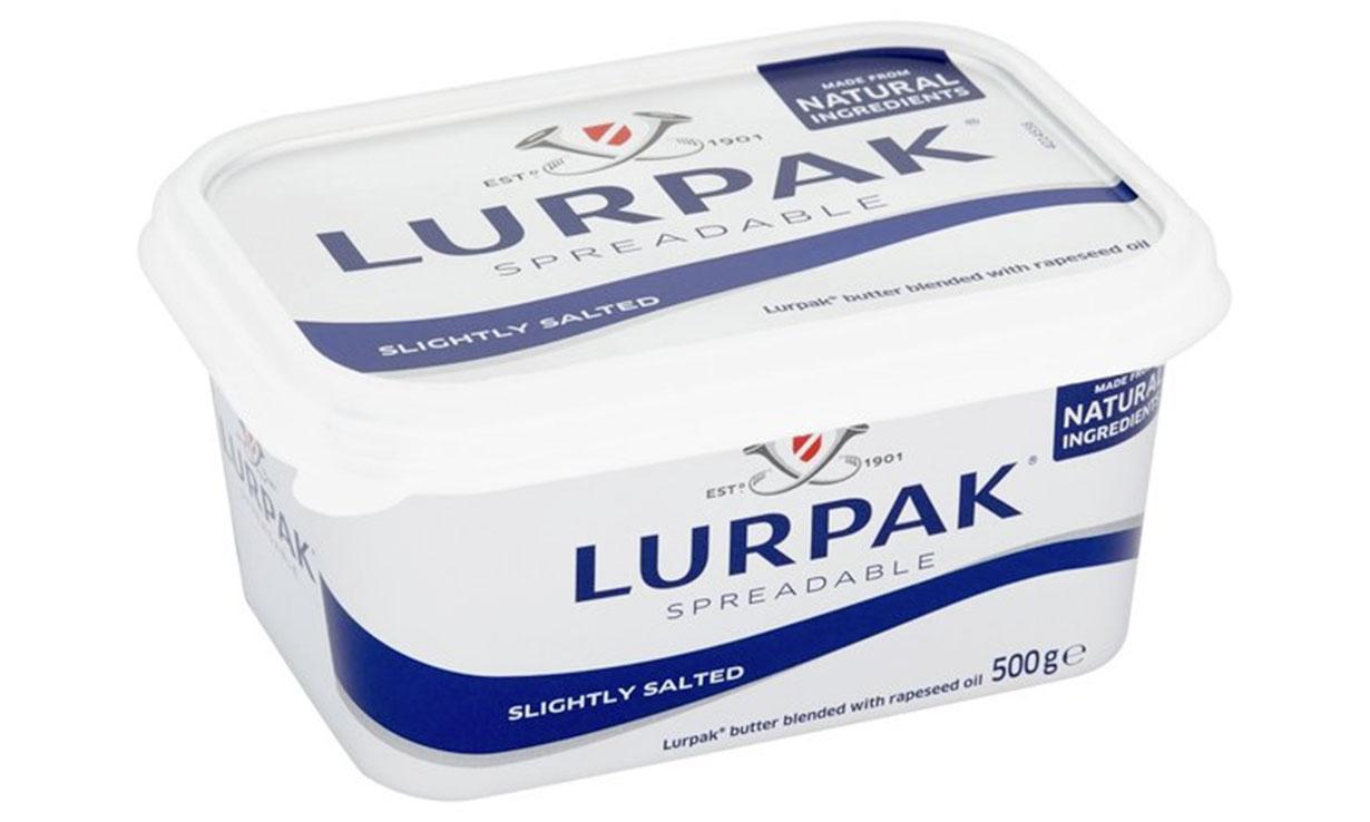 Lurpak spreadable butter pack