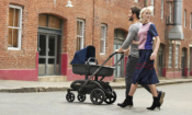 Pushchairs, strollers and double buggies with big shopping baskets