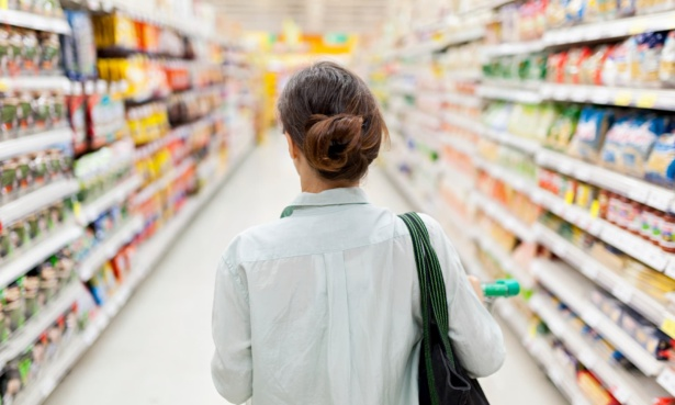 Which was the cheapest supermarket in February 2021?