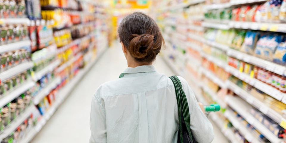 Which was the cheapest supermarket in March 2020?