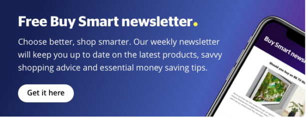 Buy Smart newsletter sign up box