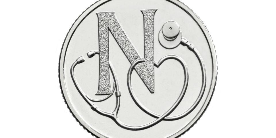 How rare is the NHS 10p coin and what is it worth now?