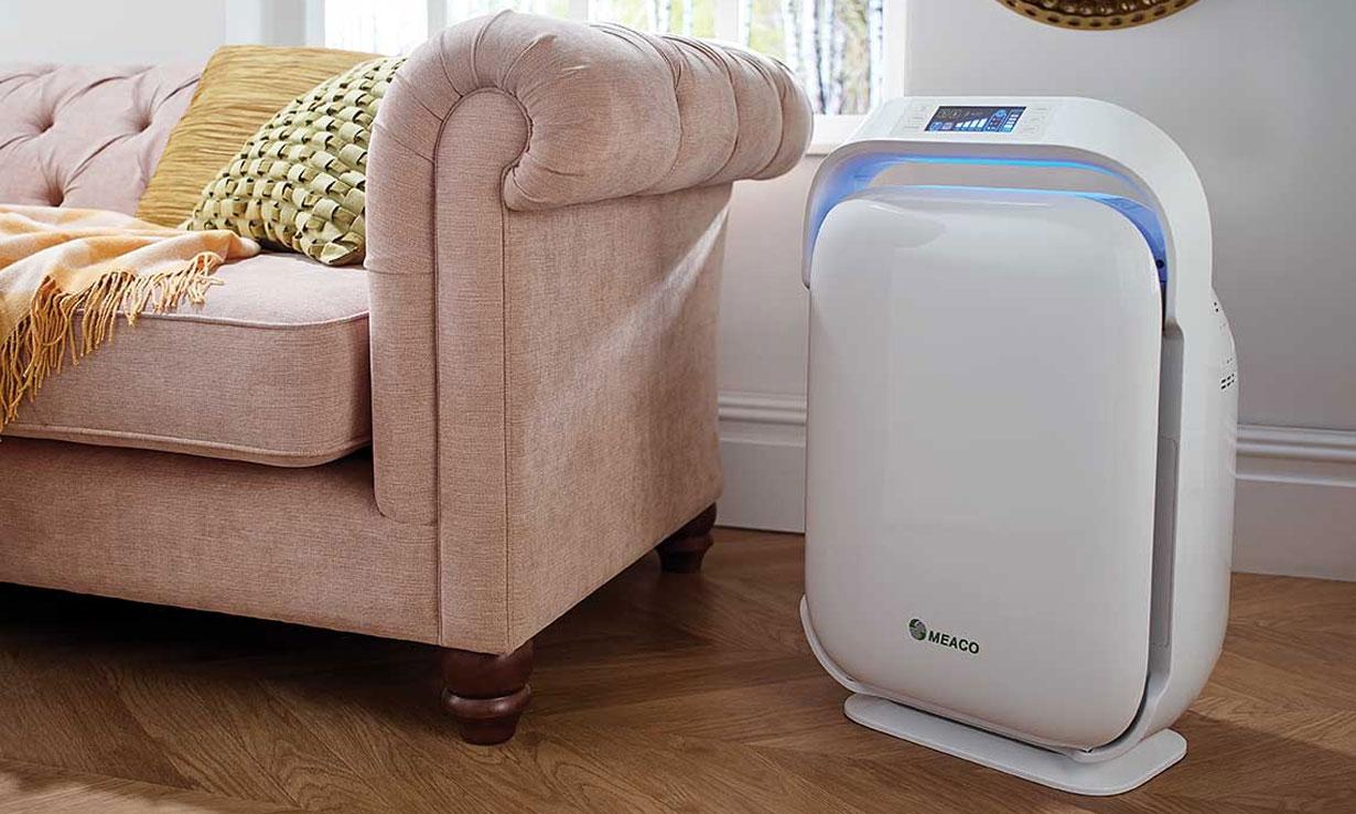MeacoClean CA-HEPA 119x5 air purifier