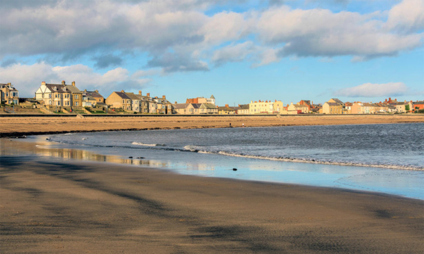 Newbiggin-by-the-Sea in Northumberland