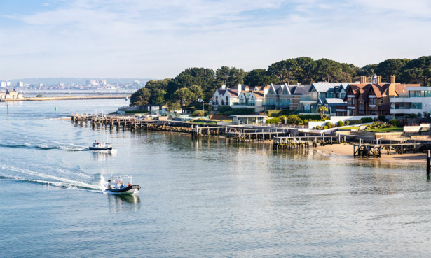 Sandbanks in Poole, Dorset