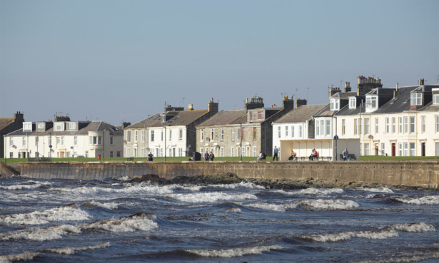 Troon in Ayrshire