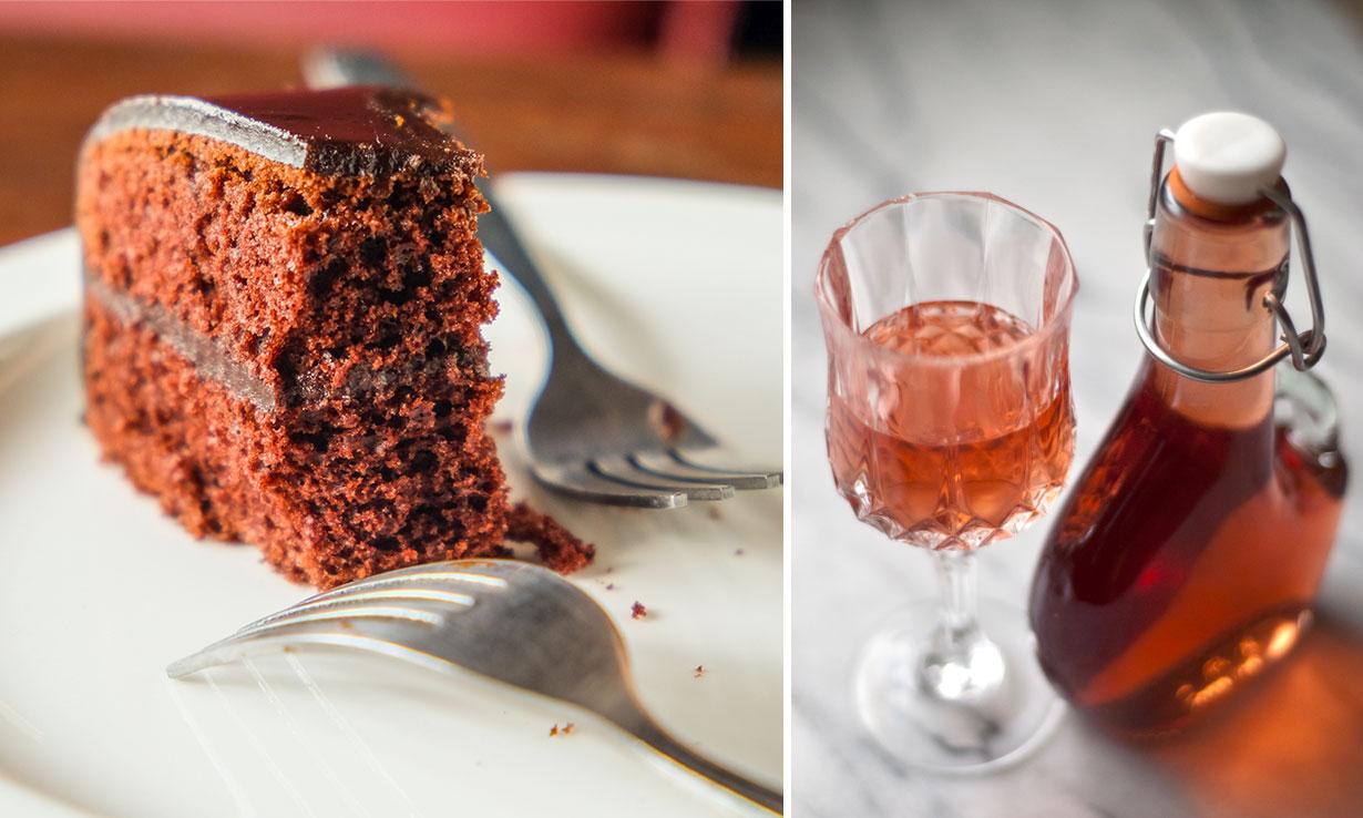 Cake infused vodka