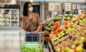 Which was the cheapest supermarket in June 2020?