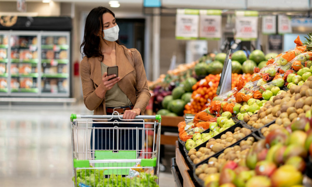 Which was the cheapest supermarket in March 2021?