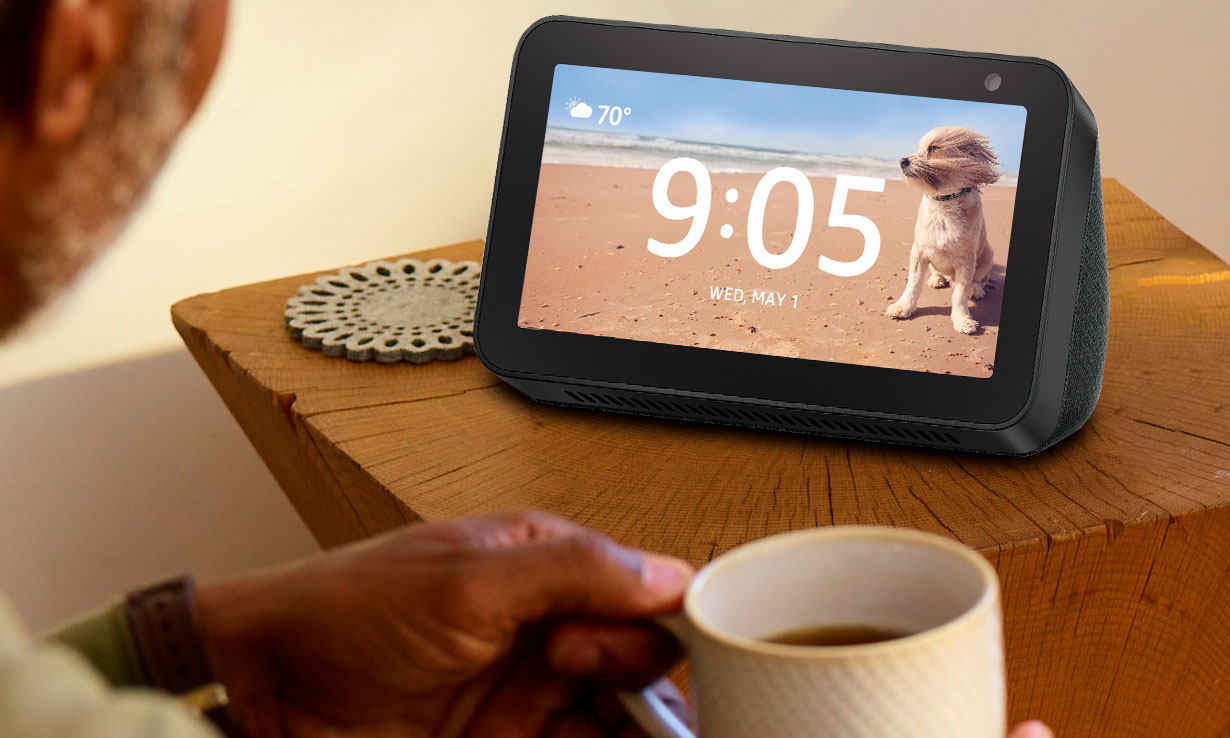 Amazon Echo Show 5 Alexa
