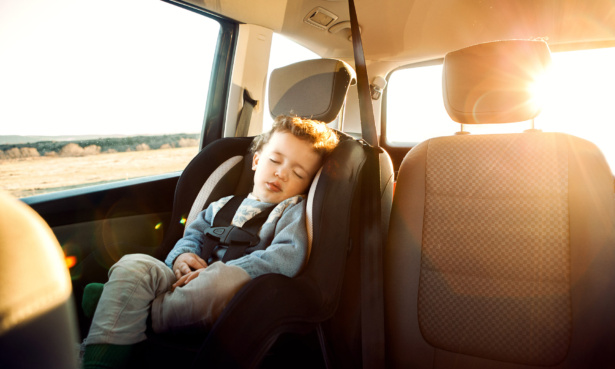 Nearly nine in 10 parents experienced problems hiring a car seat for their rental car