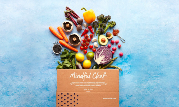 Mindful chef subscription box