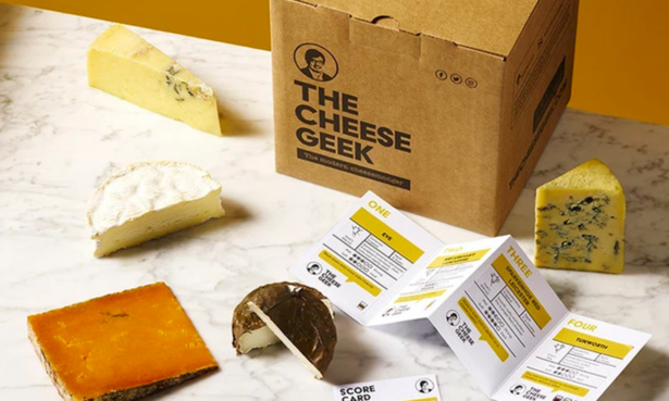 The Cheese Geek subscription box