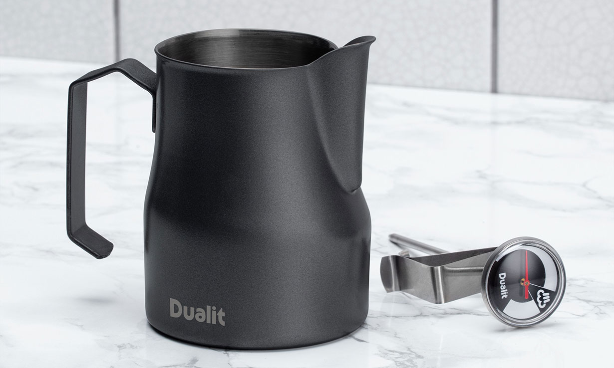 Dualit Barista kit milk frothing jug