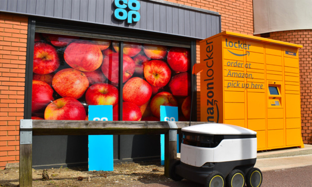 co-op delivery robot