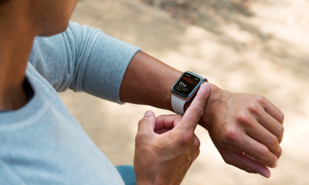Taking an ECG with Apple Watch
