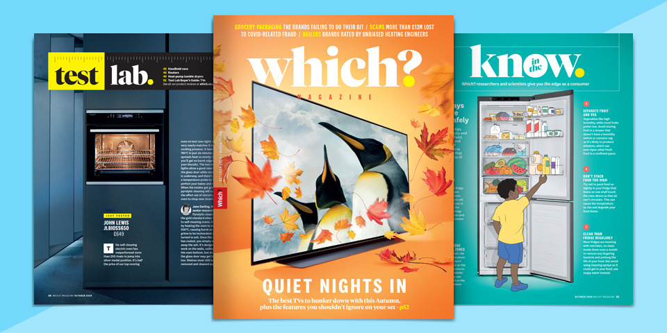 What's new in Which? magazine: October 2020