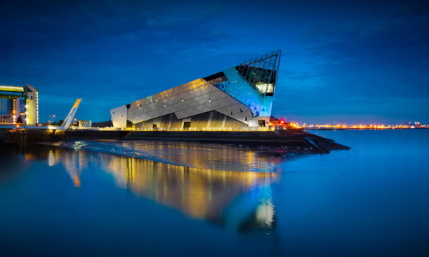 The Deep aquarium in Hull