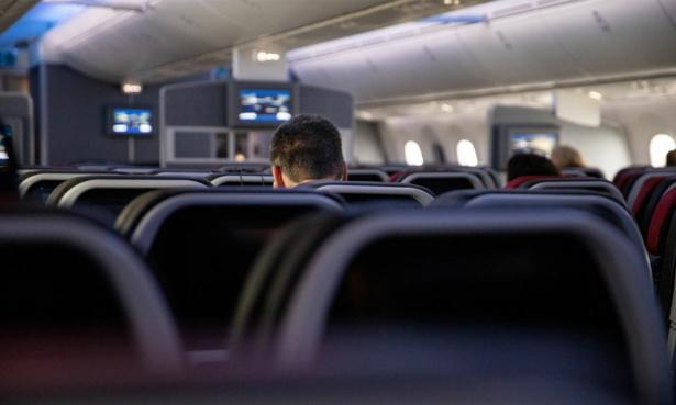 social distancing plane