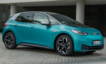 Landmark Volkswagen ID.3 electric car is put through crash safety tests