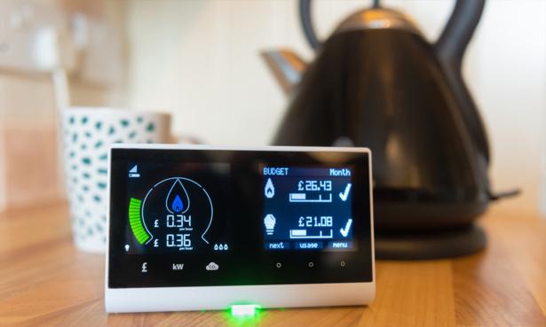 Energy smart meter by kettle