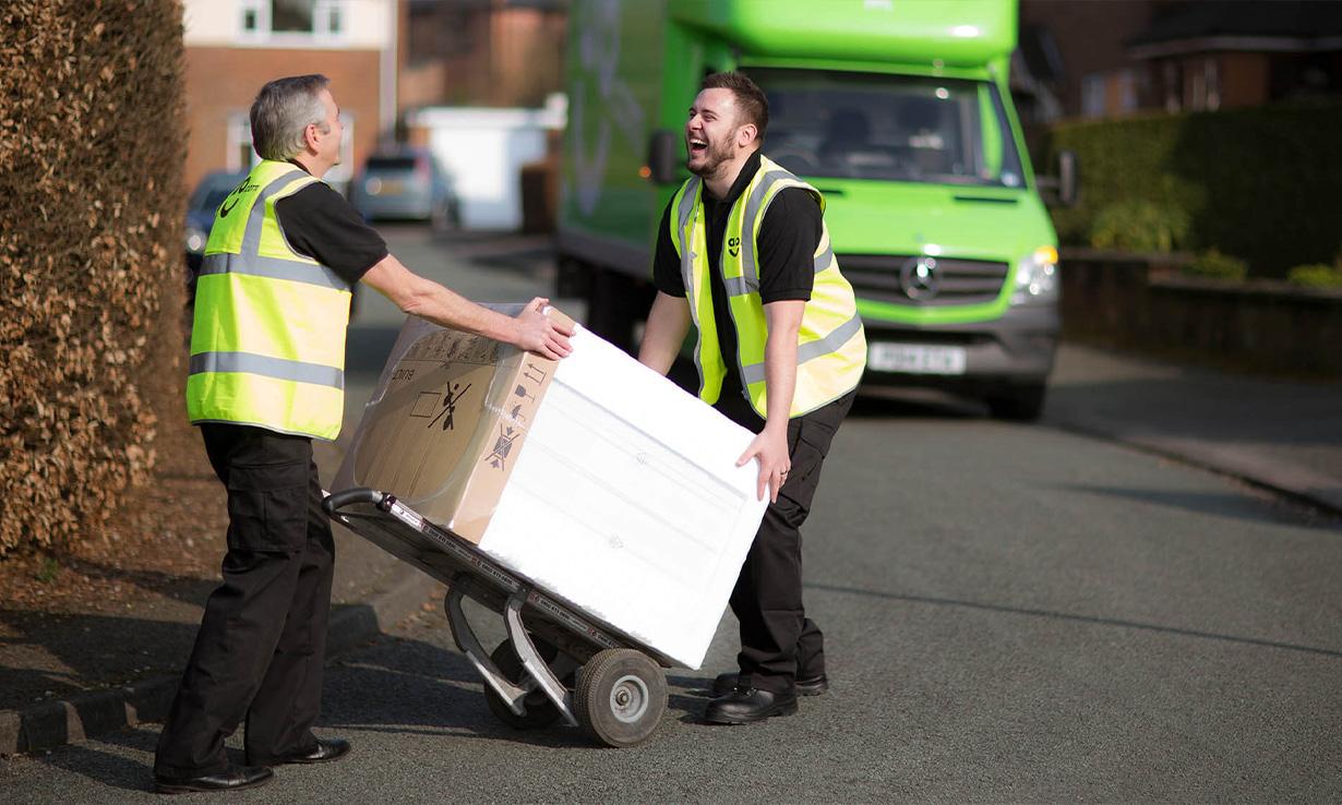 Ao.com delivery drivers