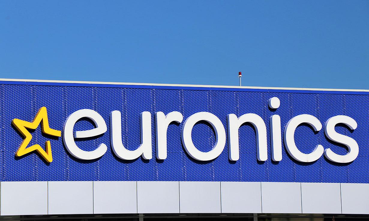 Euronics sign