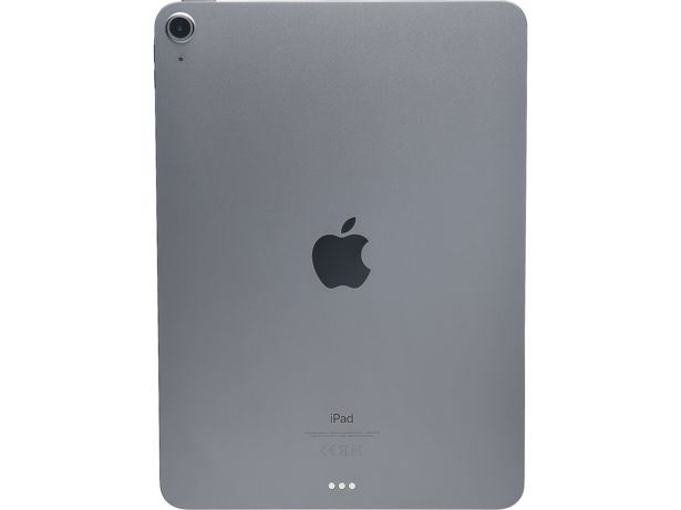 Apple iPad Air in silver - rear view