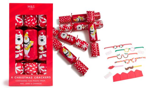 M&S Christmas Crackers, £10