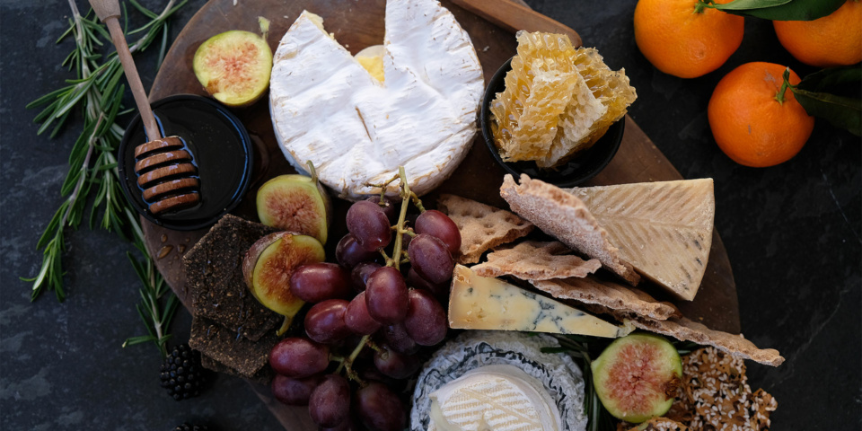 Five tips for the perfect Christmas cheese board