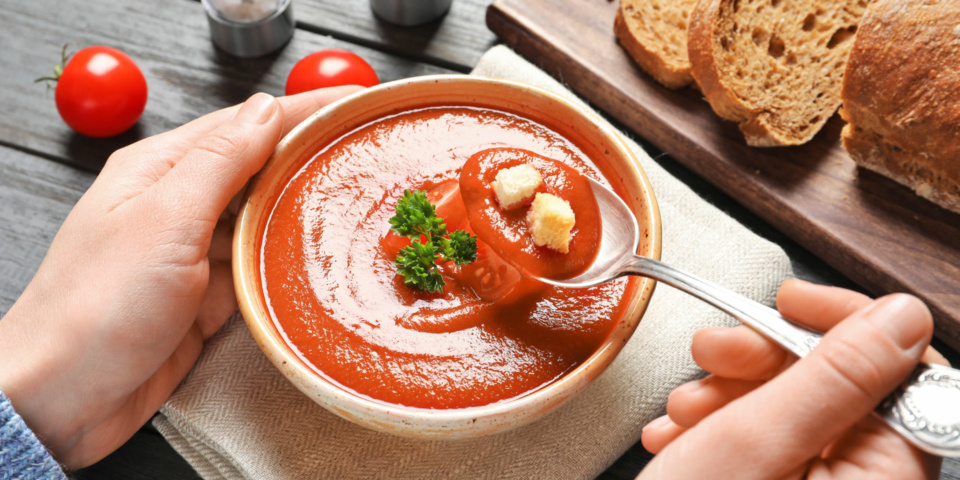 Which tomato soup should you choose: tinned, packet or refrigerated?