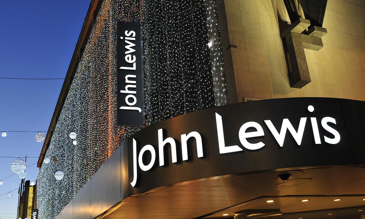 Outside of a John Lewis store