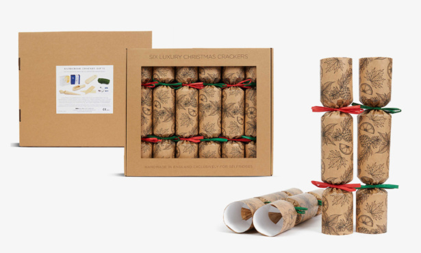 Selfridges Eco Christmas crackers, £55