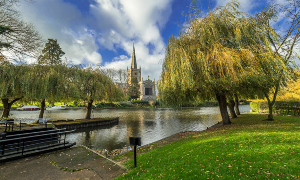 Stratford upon Avon river