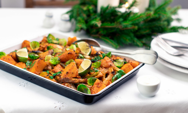 Turkey Tray Bake with Fragrant Spices