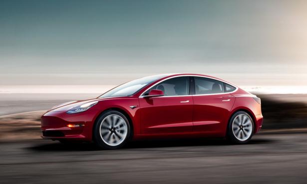 Tesla Model 3 electric car