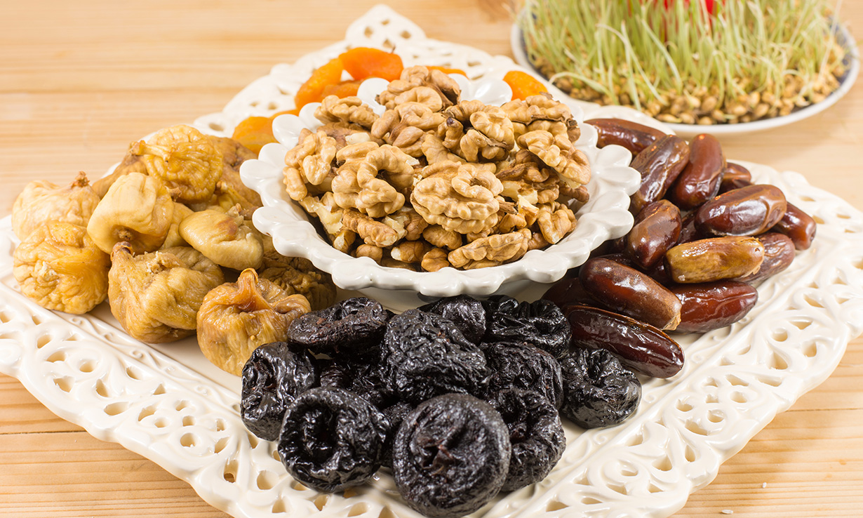 Dried fruit, such as figs and dates, are a nutritious alternative to Christmas chocolates