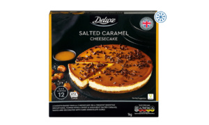 Lidl Deluxe Salted Caramel Cheesecake