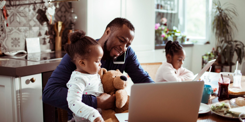 How to make your home office safe for children