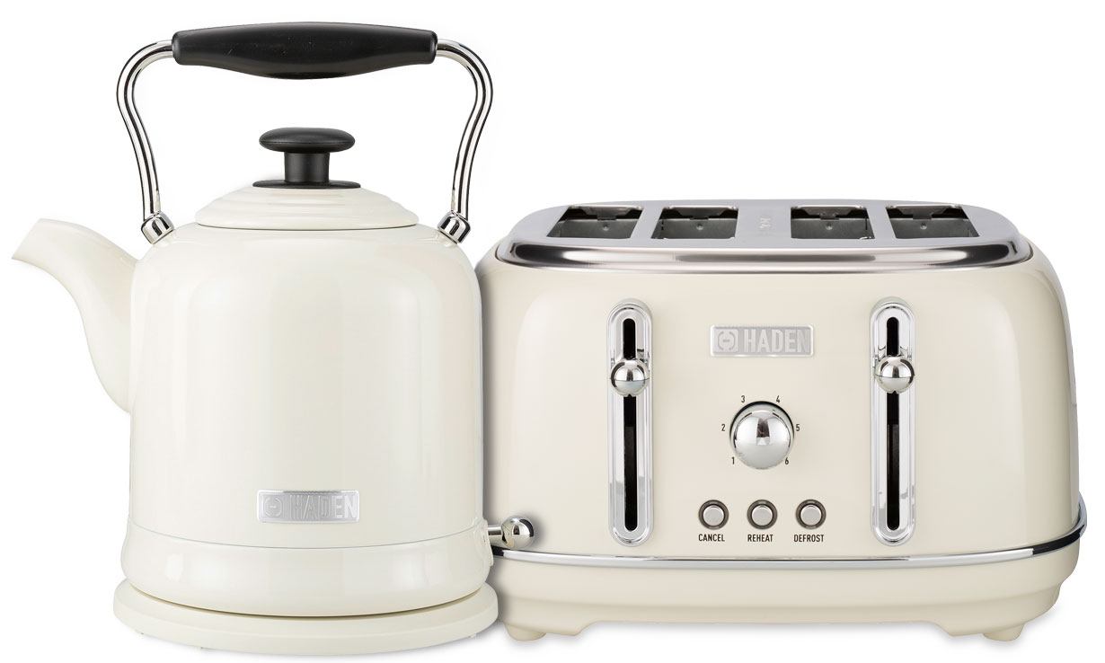 Haden Highclere kettle and toaster