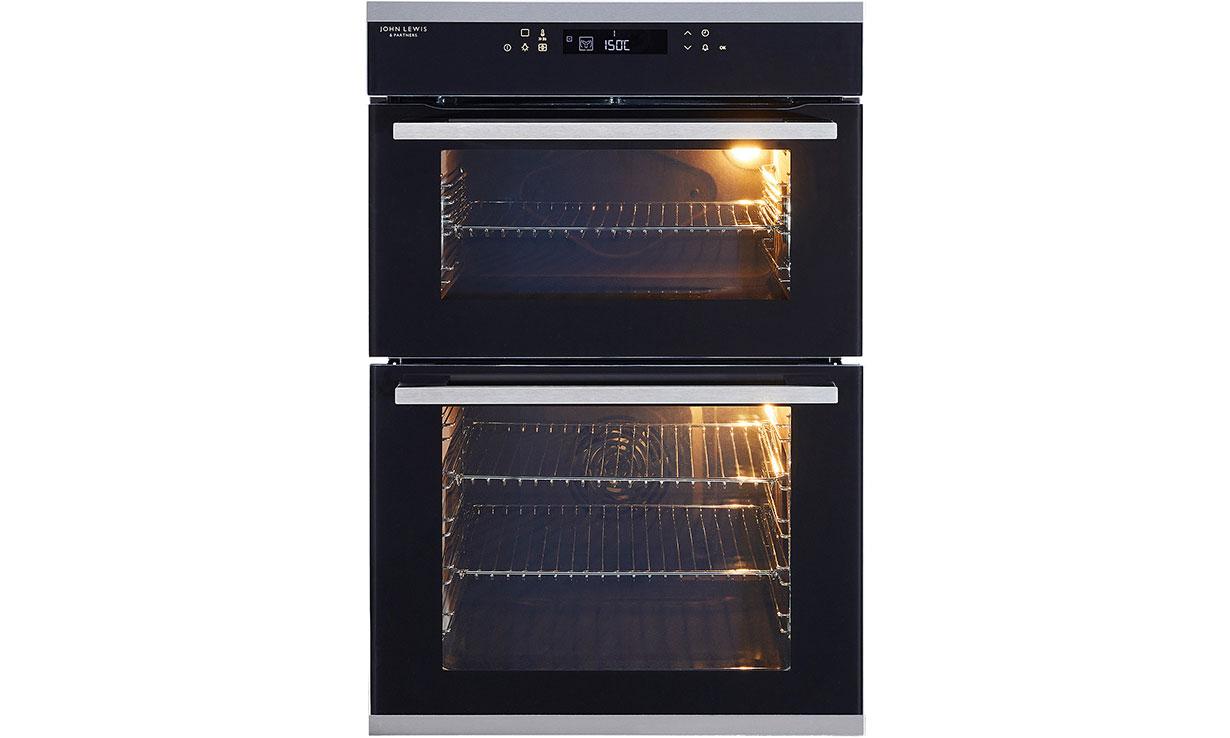 John Lewis JLBIDO932X double oven