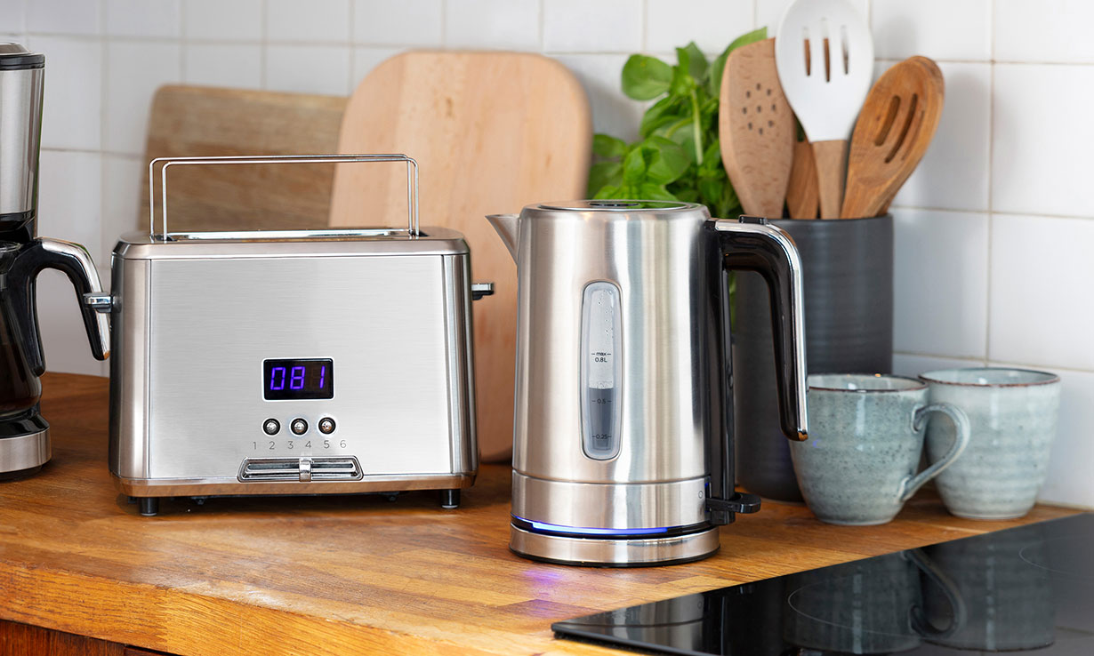 Premium kettle and toaster