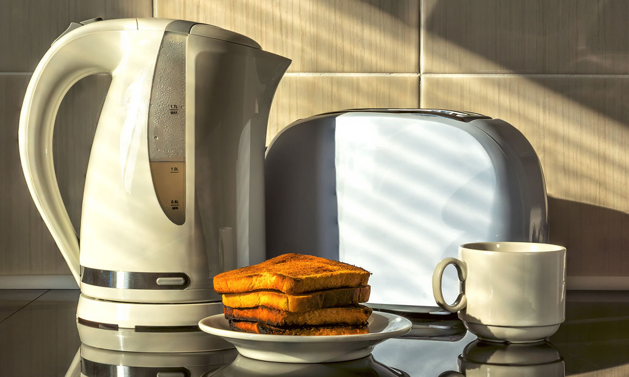 Cheap kettles and toasters
