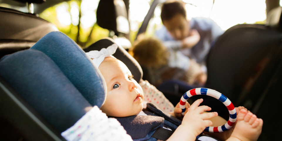 Six signs your child is too big for their car seat